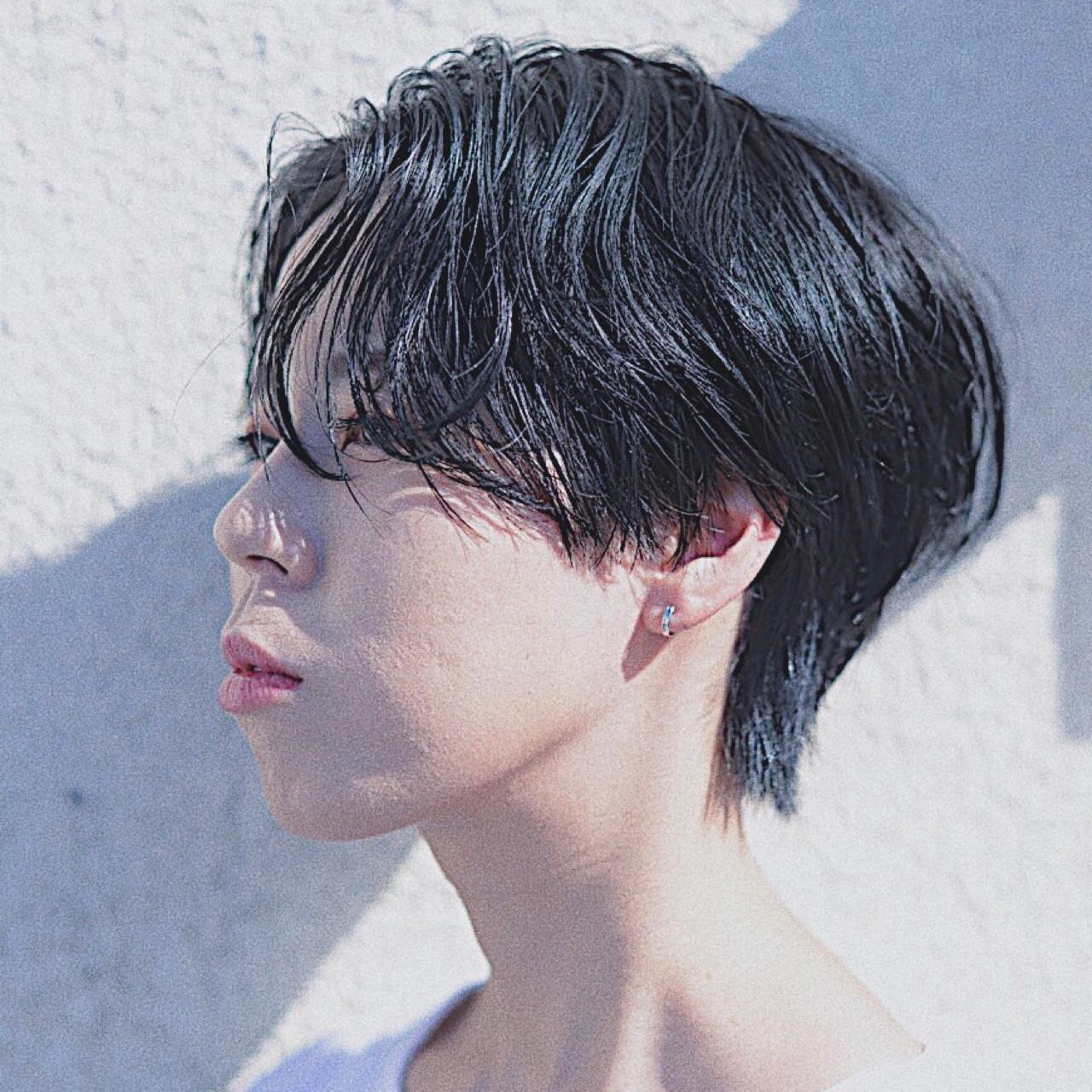 大人かわいい 爽やか 黒髪 ナチュラル ヘアスタイルや髪型の写真・画像 | 根岸和也 / studio menos