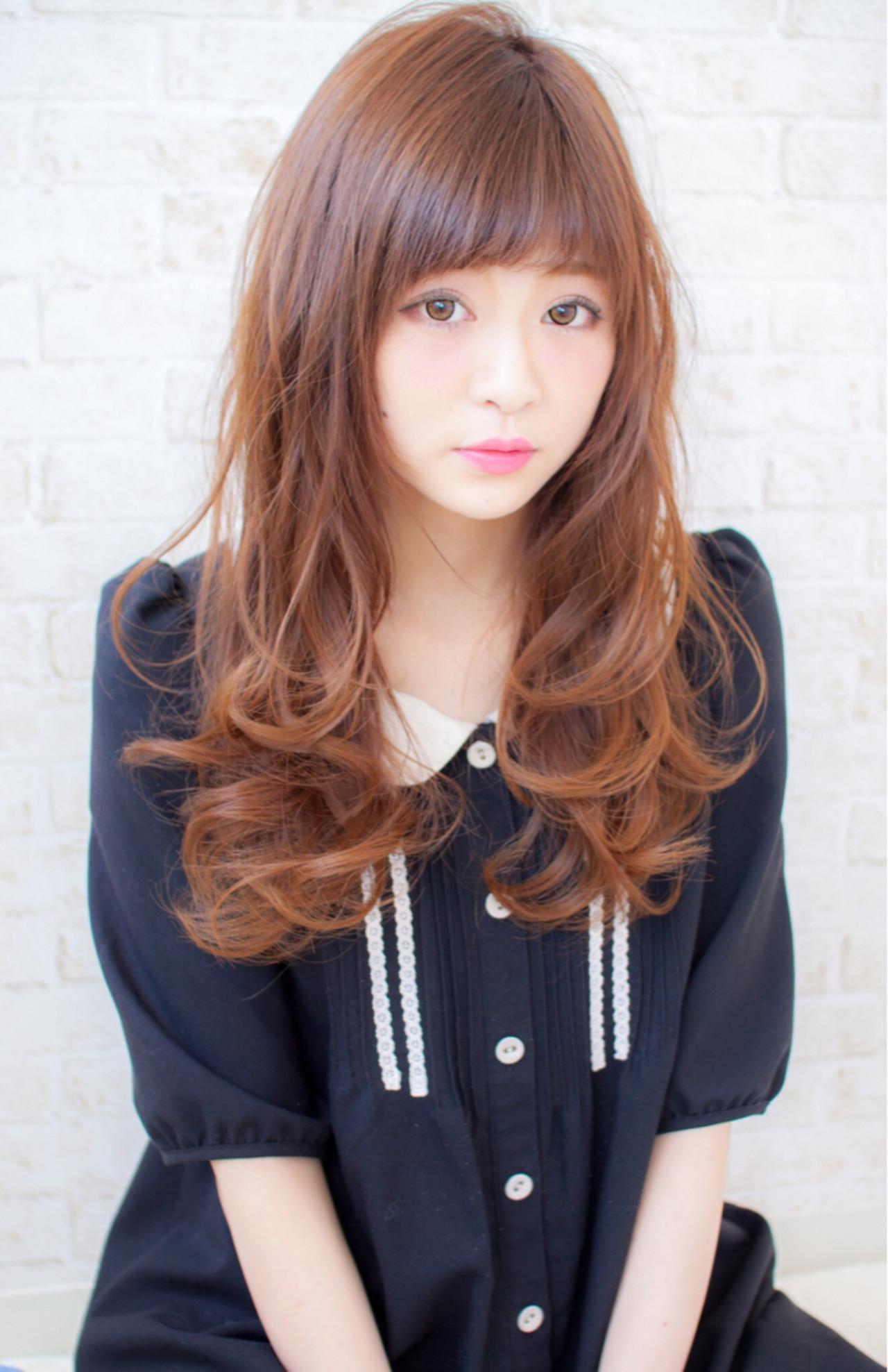 コンサバ 大人女子 波ウェーブ ゆるふわ ヘアスタイルや髪型の写真・画像