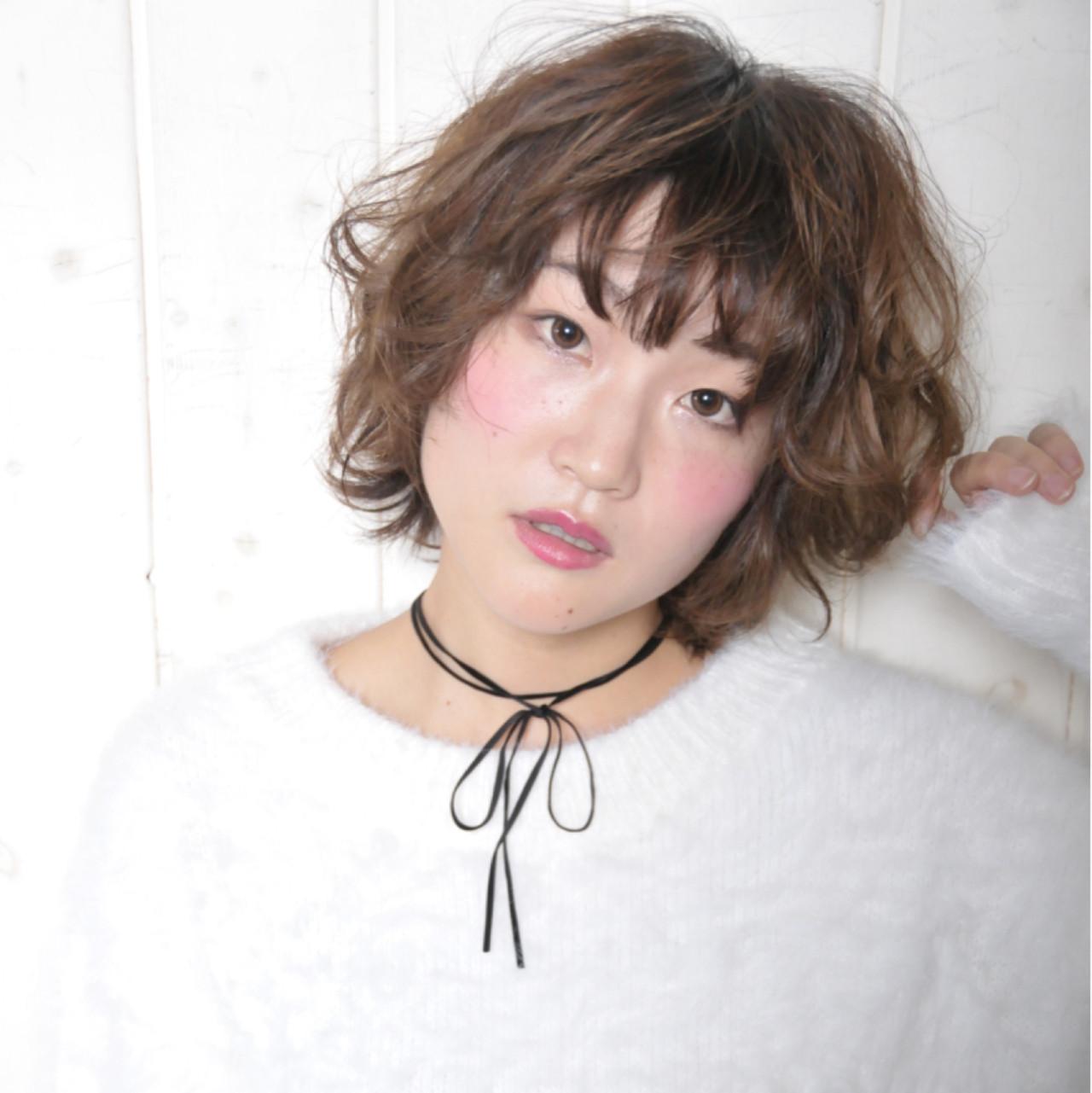 ミルクティー キュート ゆるふわ パーマ ヘアスタイルや髪型の写真・画像