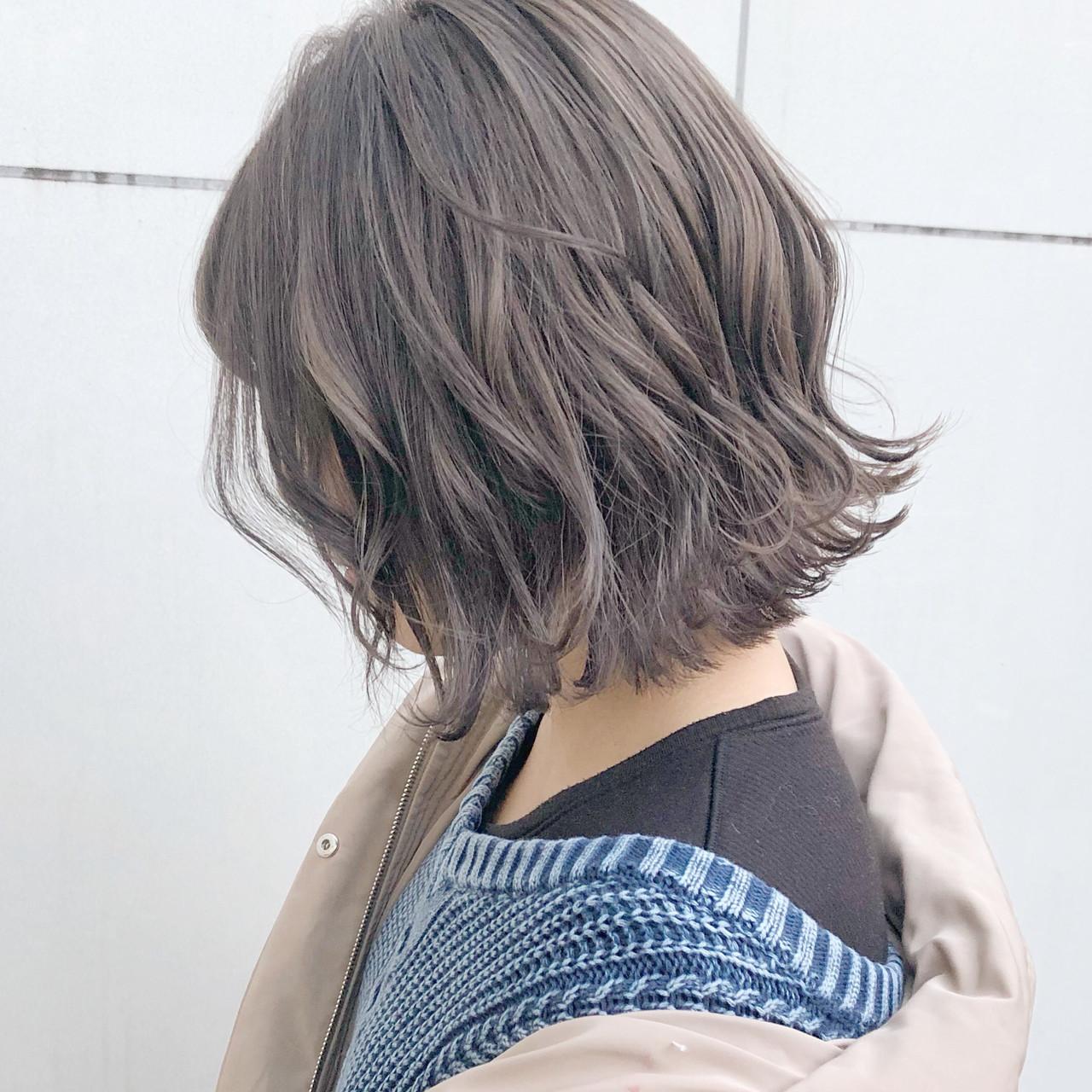 デート 切りっぱなし ヘアアレンジ 大人かわいい ヘアスタイルや髪型の写真・画像 | 『ボブ美容師』永田邦彦 表参道 / send by HAIR