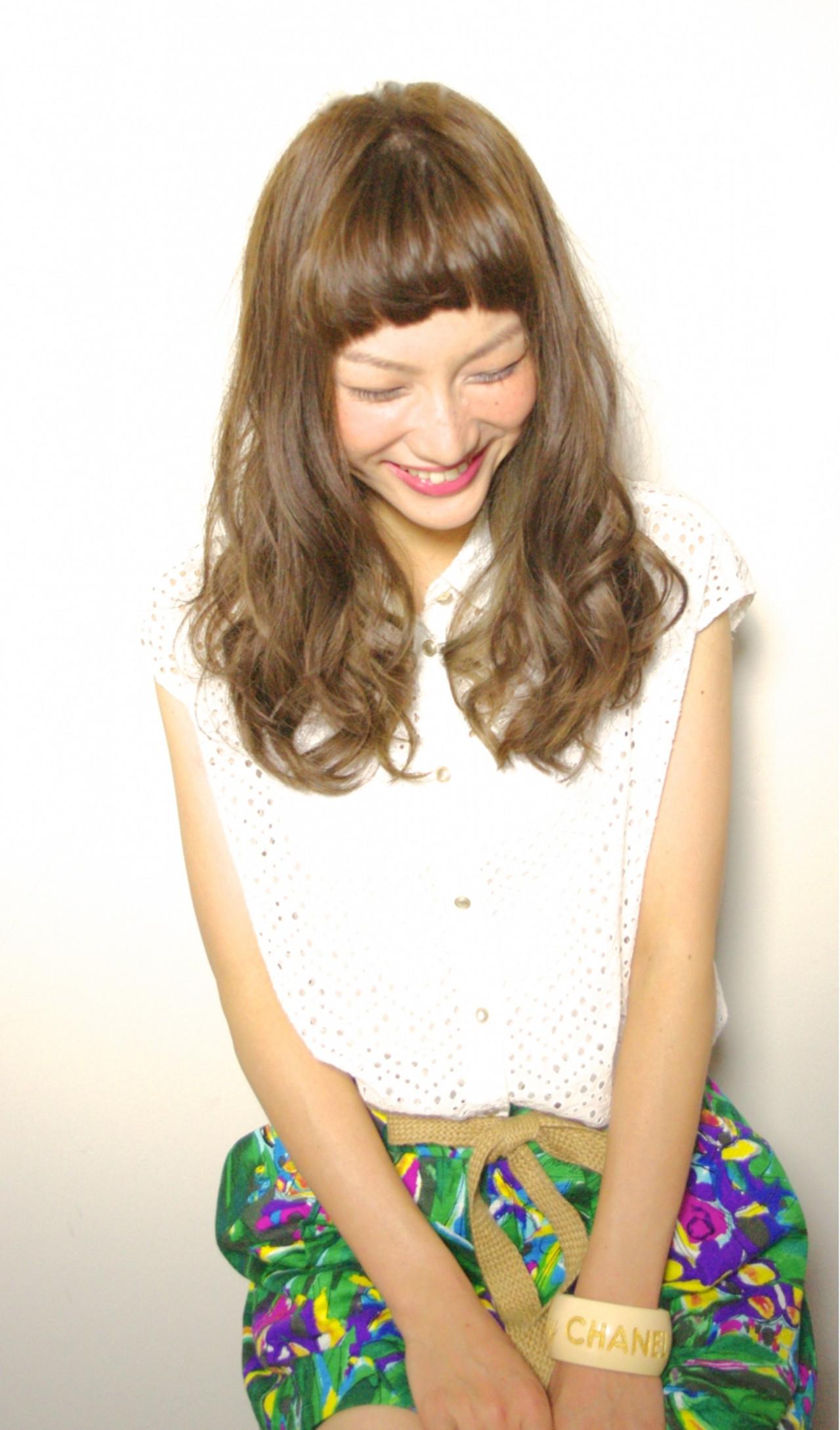 ブラウン 外国人風 ゆるふわ 大人かわいい ヘアスタイルや髪型の写真・画像