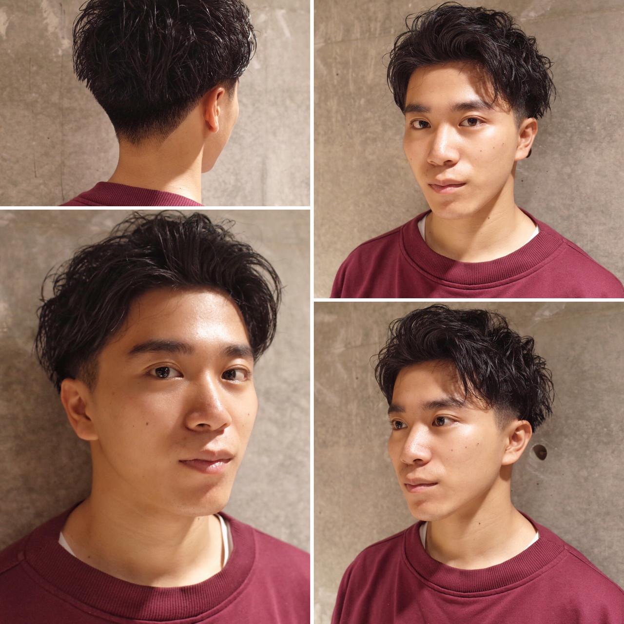 刈り上げ ストリート メンズヘア メンズ ヘアスタイルや髪型の写真・画像 | 刈り上げ・2ブロック専門美容師 ヤマモトカズヒコ / MEN'S GROOMING SALON AOYAMA by kakimoto arms