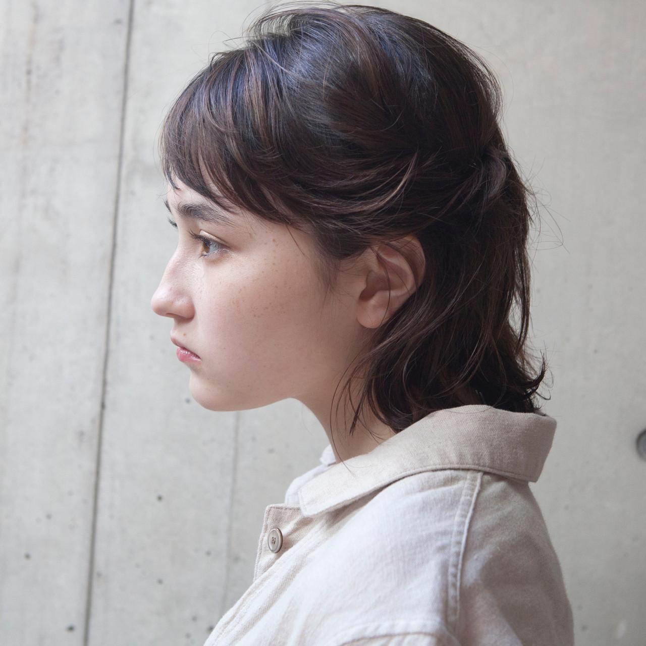 抜け感 ハイライト 外国人風 ナチュラル ヘアスタイルや髪型の写真・画像 | タカハシ アヤミ / trail by ROVER