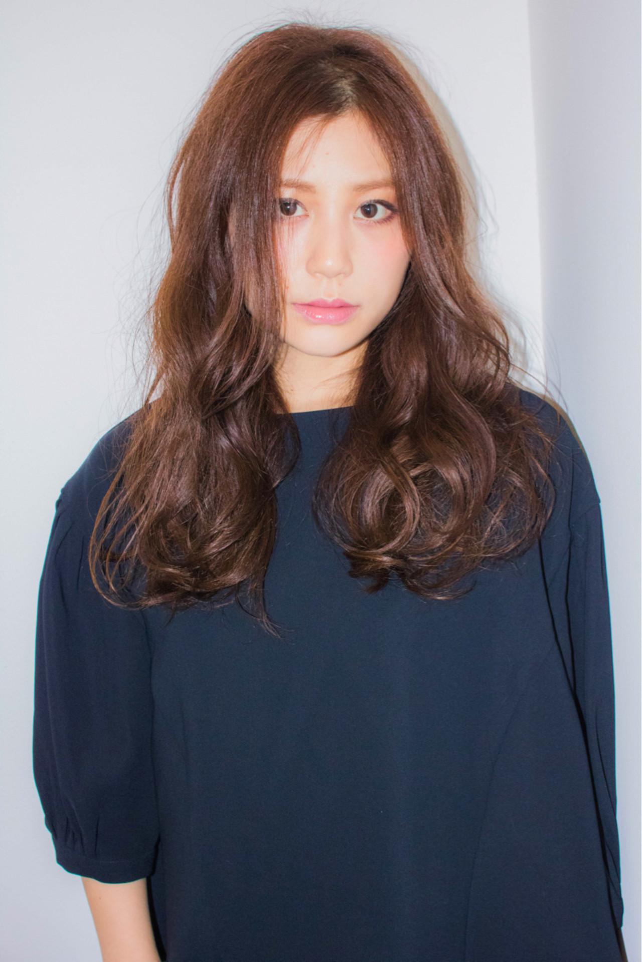 モード 外国人風 かっこいい 大人女子 ヘアスタイルや髪型の写真・画像
