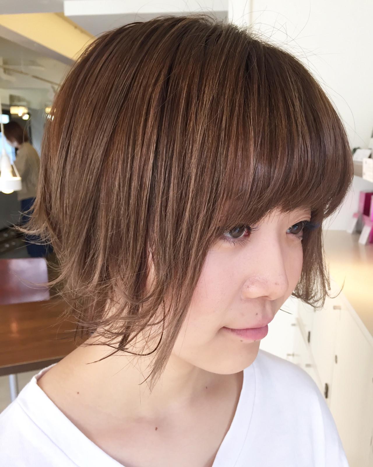 ショート オシャレ ハンサムショート トレンド ヘアスタイルや髪型の写真・画像