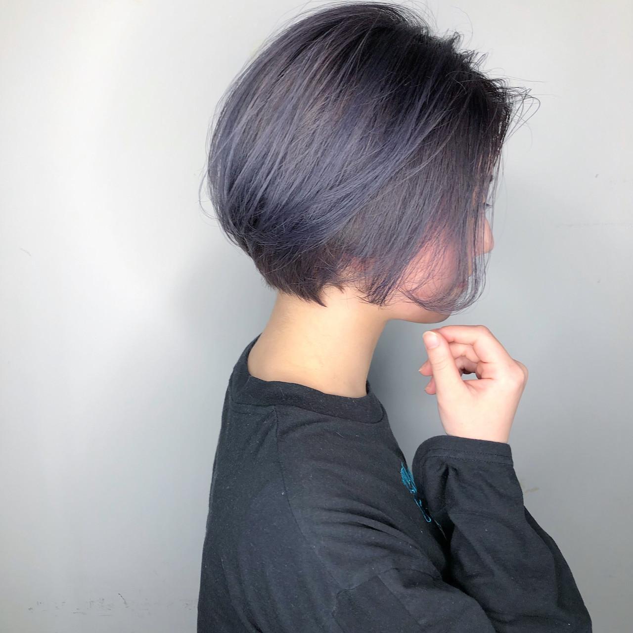 ナチュラル デート スポーツ ショート ヘアスタイルや髪型の写真・画像 | 山口 卓哉/earth北浦和店 / Hair&Make EARTH北浦和店
