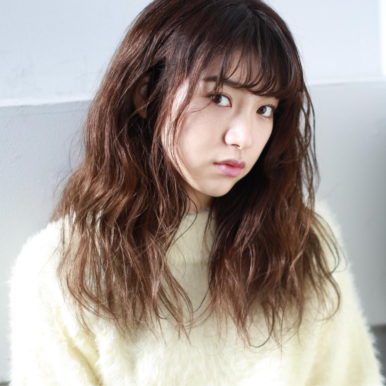ハイライト 色気 外国人風カラー ナチュラル ヘアスタイルや髪型の写真・画像 | イマムラ スナオ / LUKE