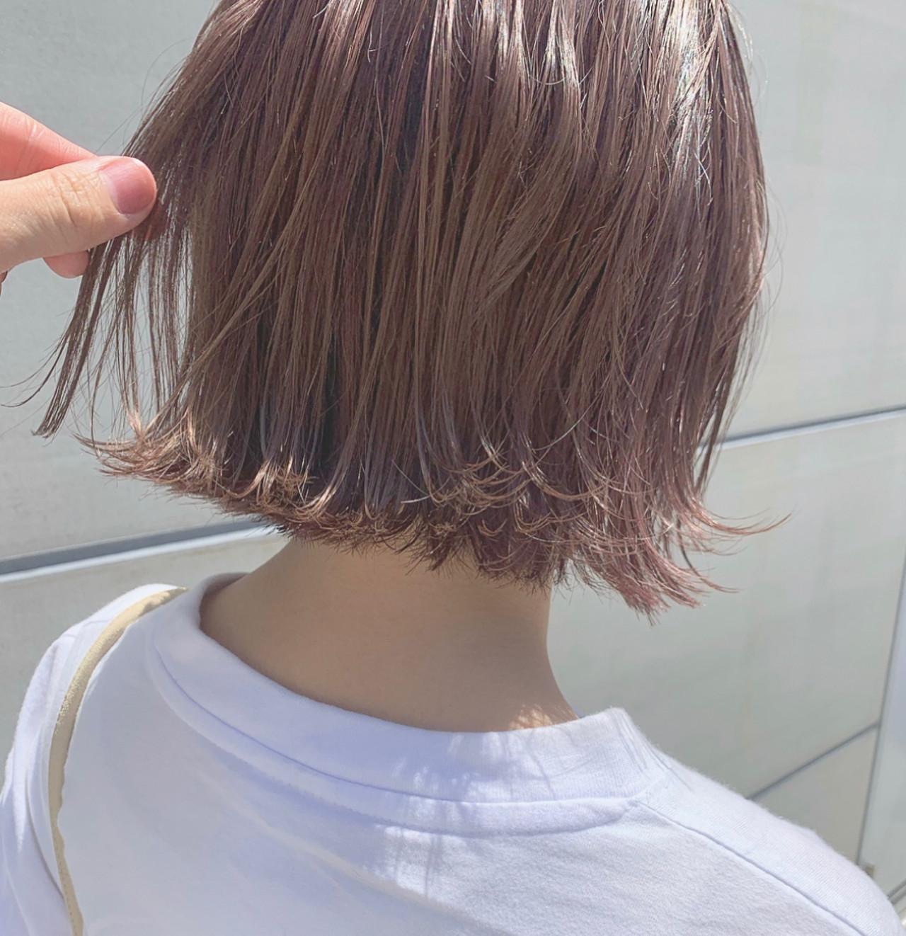 ブリーチなしでも発色キレイ♡ピンクベージュカラー特集