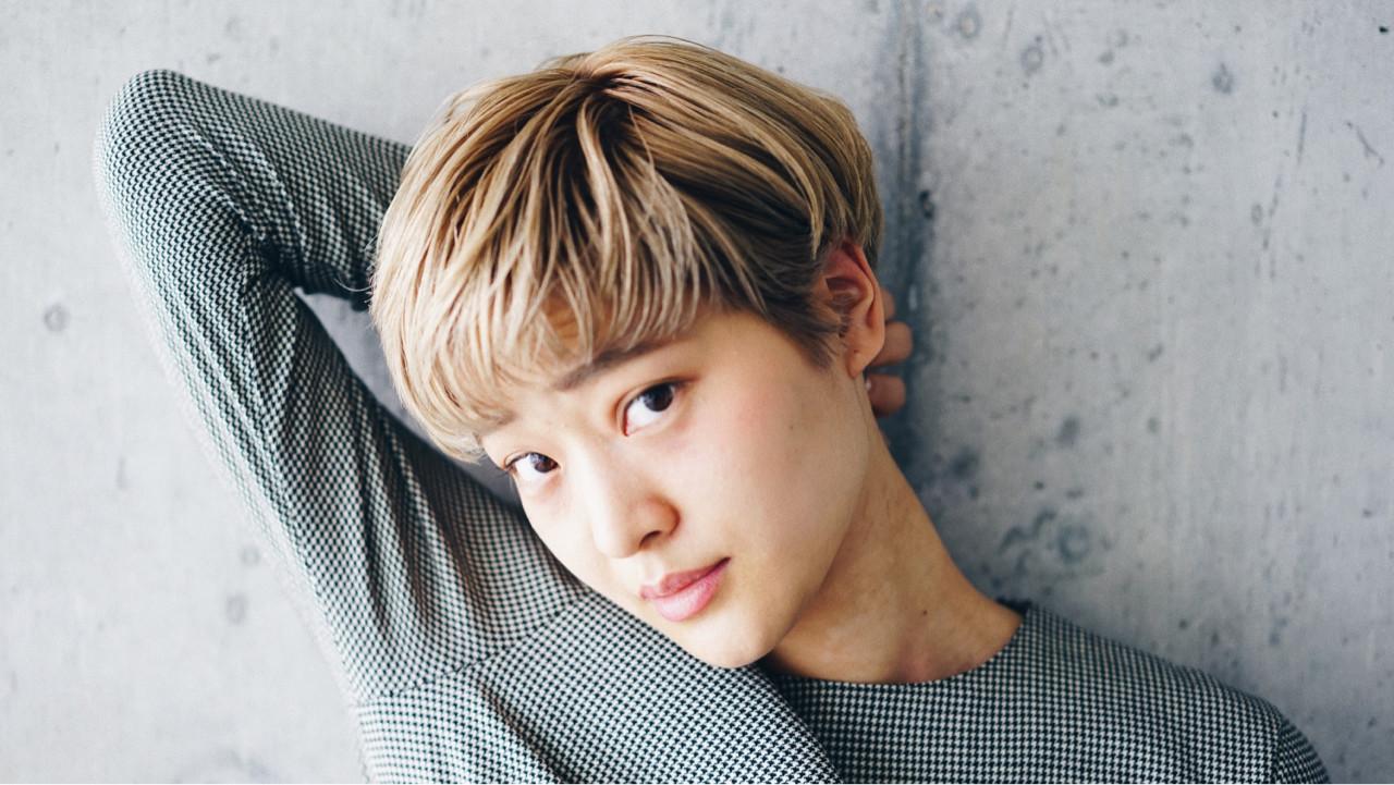 外国人風カラー 小顔 ショート ベリーショート ヘアスタイルや髪型の写真・画像   服部 光 / nidodemenos