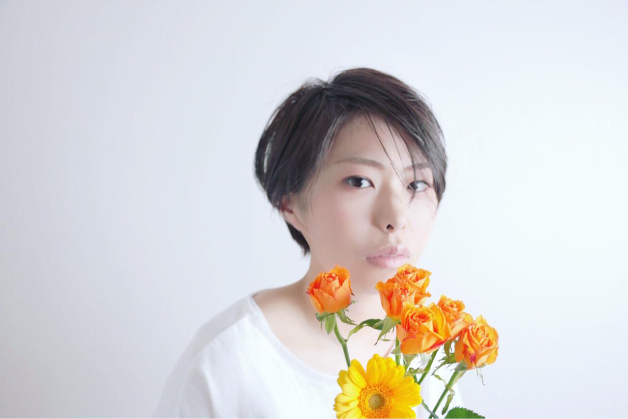 抜け感 ショート ゆるふわ アンニュイ ヘアスタイルや髪型の写真・画像 | 伊藤晃太 / SHIKI