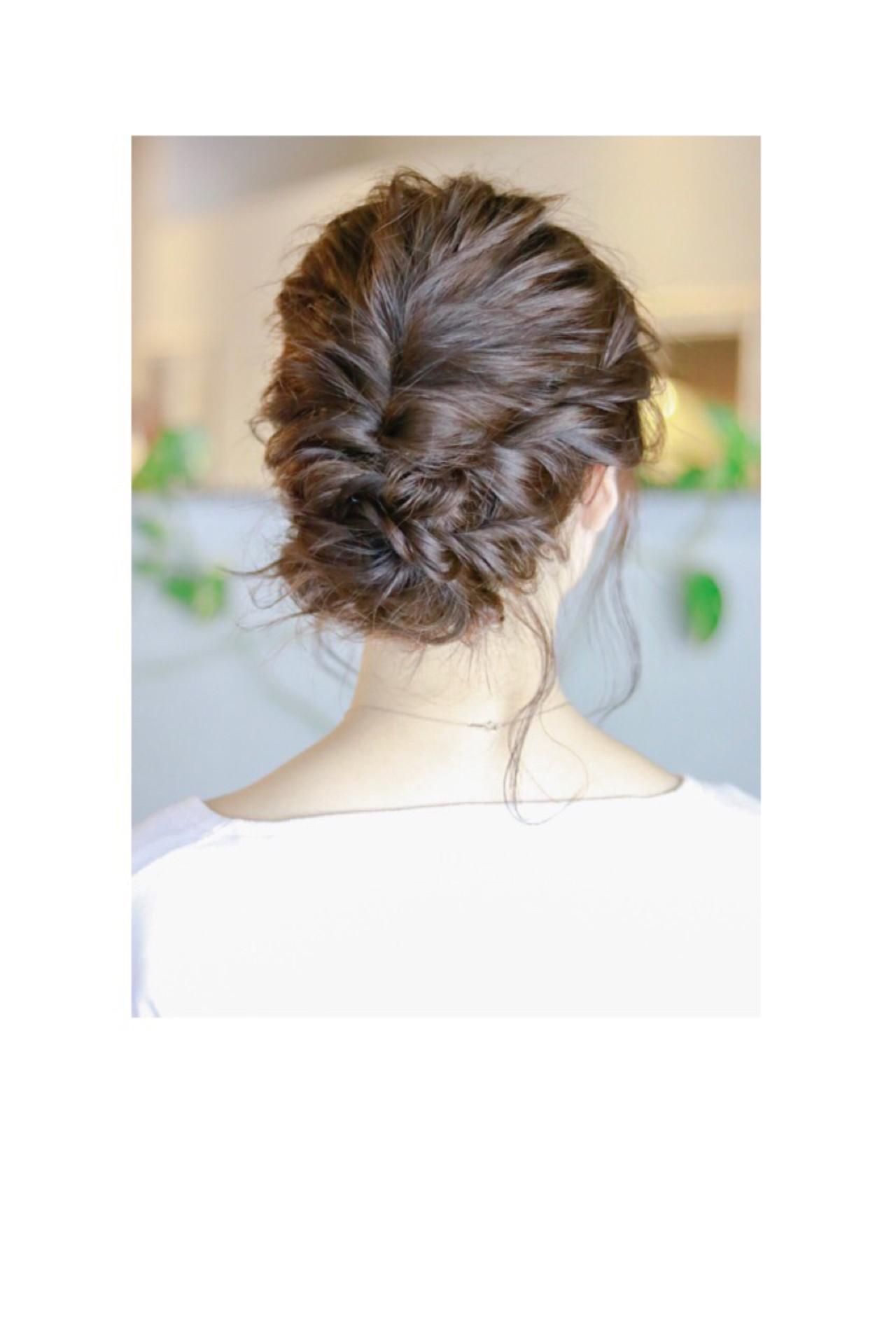 ナチュラル ヘアアレンジ 結婚式 デート ヘアスタイルや髪型の写真・画像