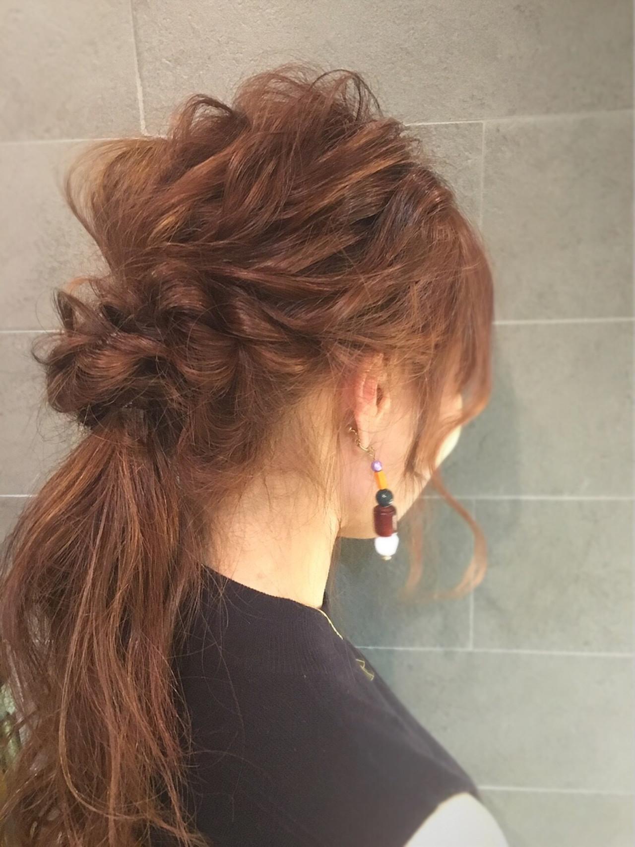 簡単 ショート 波ウェーブ ロング ヘアスタイルや髪型の写真・画像   山田大貴 / throb / throb by reve