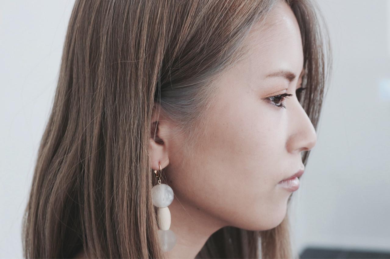 インナーカラー ブリーチ イルミナカラー 冬 ヘアスタイルや髪型の写真・画像 | TAKAKUWA YUUICHI / nico...