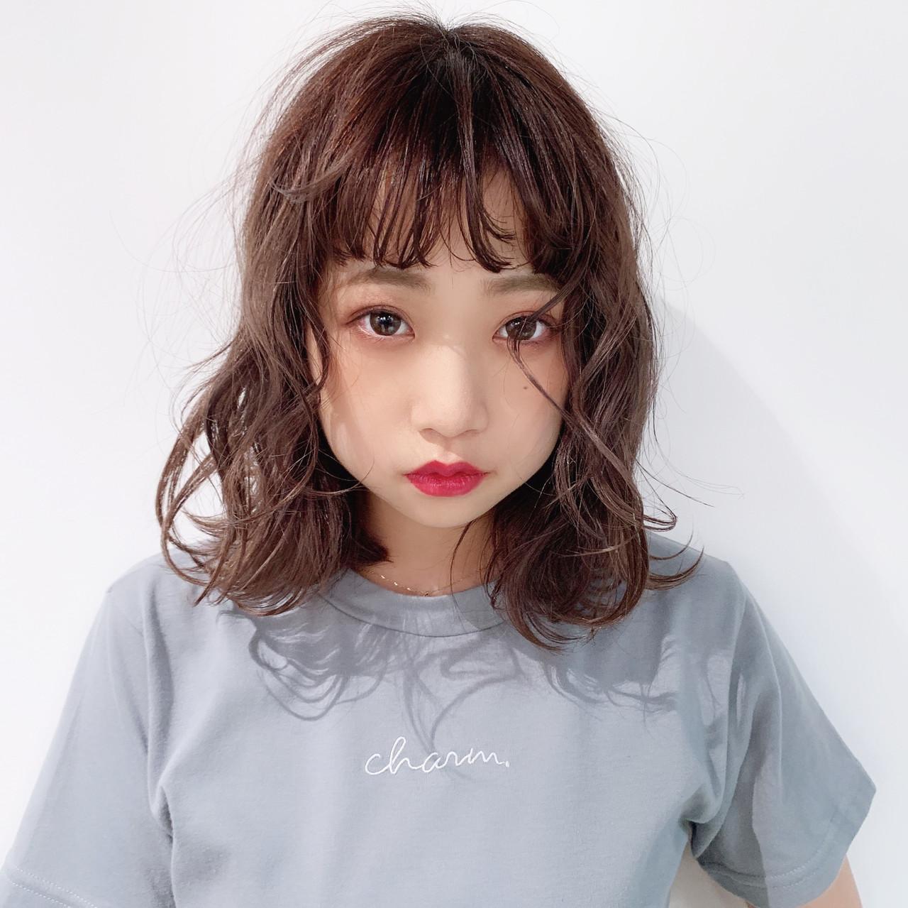 簡単ヘアアレンジ モテボブ デート ナチュラル ヘアスタイルや髪型の写真・画像