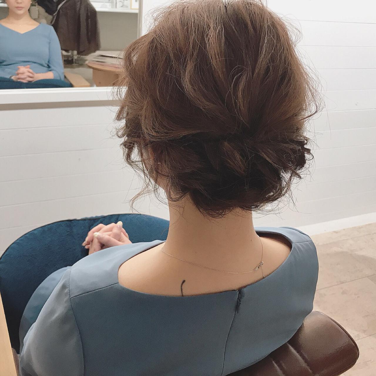 結婚式 デート ヘアアレンジ ナチュラル ヘアスタイルや髪型の写真・画像   YUJI / LIICHI / LIICHI (リイチ)