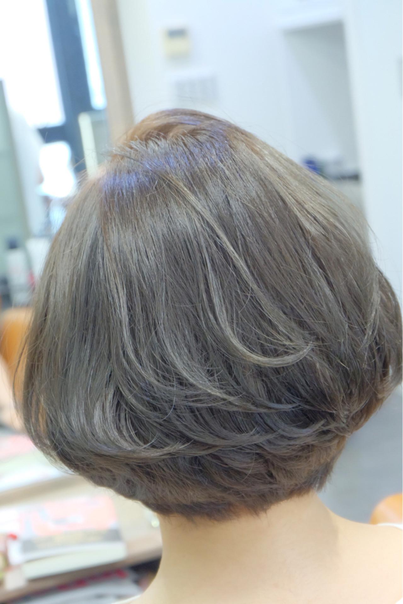 秋 女子会 アッシュ 透明感 ヘアスタイルや髪型の写真・画像