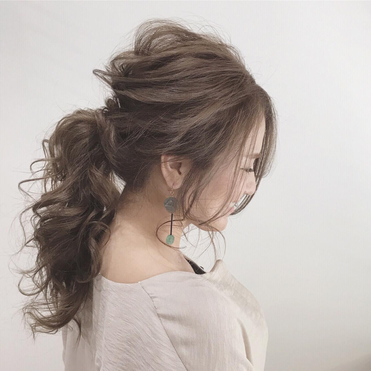 外国人風 上品 エレガント 秋 ヘアスタイルや髪型の写真・画像 | SHOTA / cherir