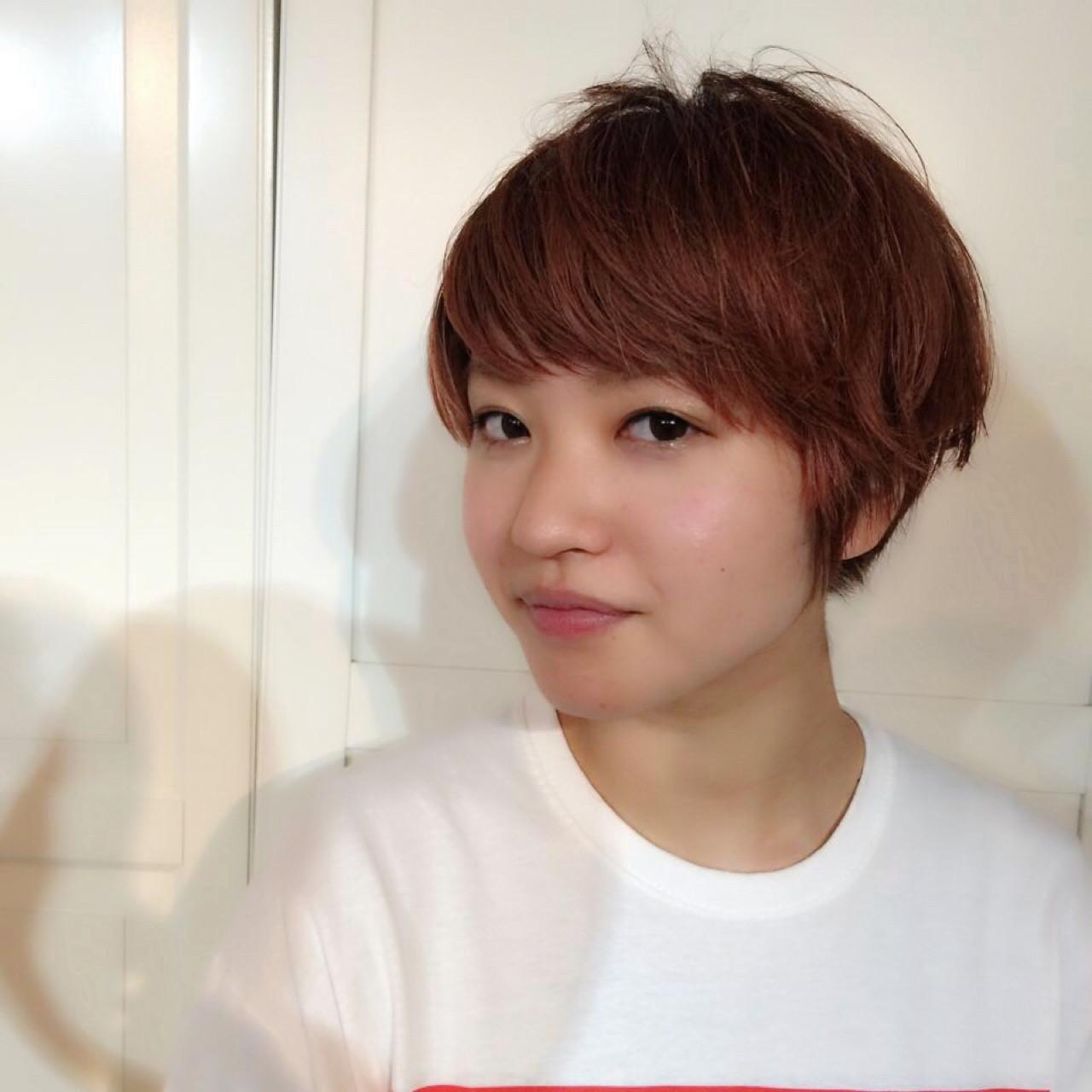 外国人風 ショート ストリート アッシュ ヘアスタイルや髪型の写真・画像