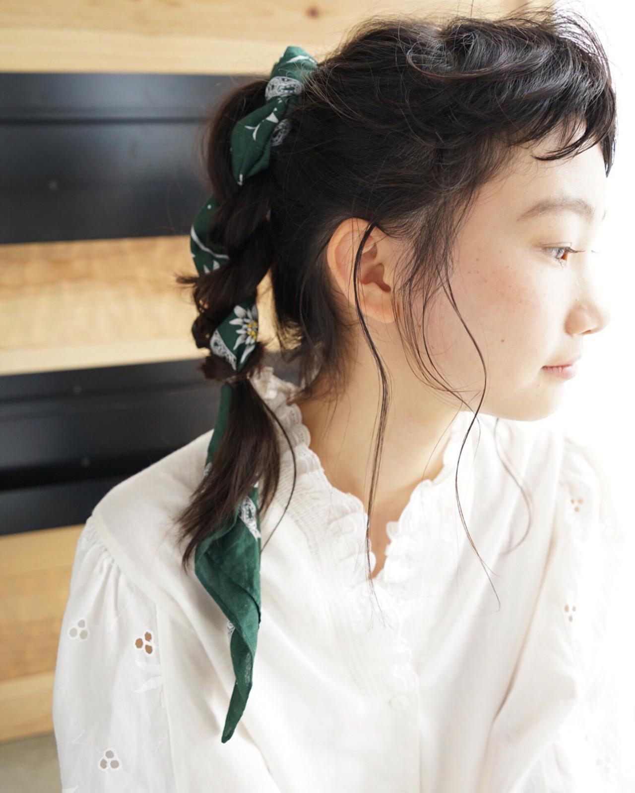 編み込み アンニュイ ロング 抜け感 ヘアスタイルや髪型の写真・画像