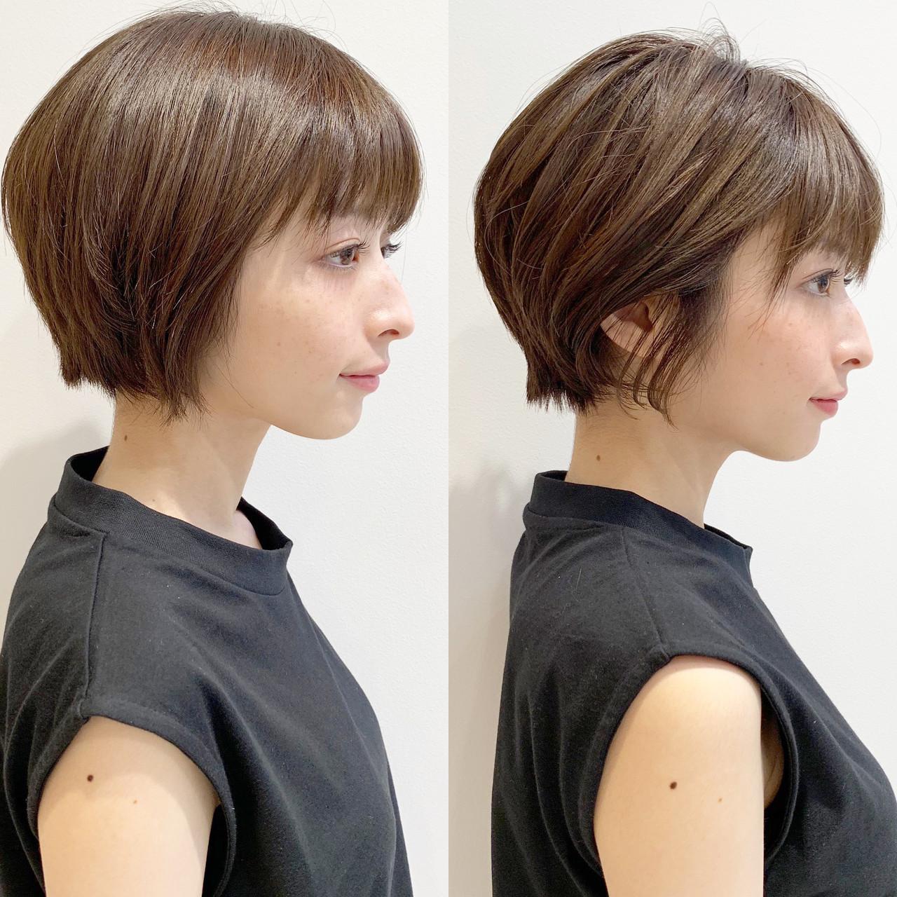 ショート エレガント スポーツ オフィス ヘアスタイルや髪型の写真・画像 | ショートヘア美容師 #ナカイヒロキ / 『send by HAIR』