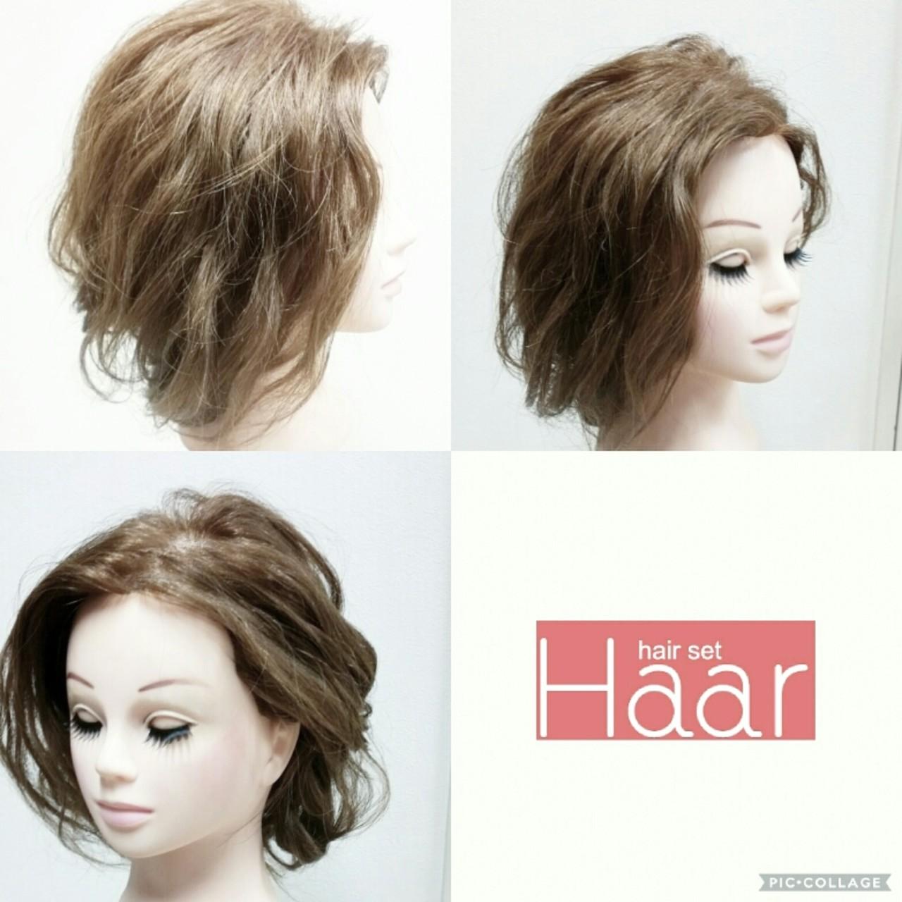 ヘアアレンジ ナチュラル こなれ感 大人女子 ヘアスタイルや髪型の写真・画像
