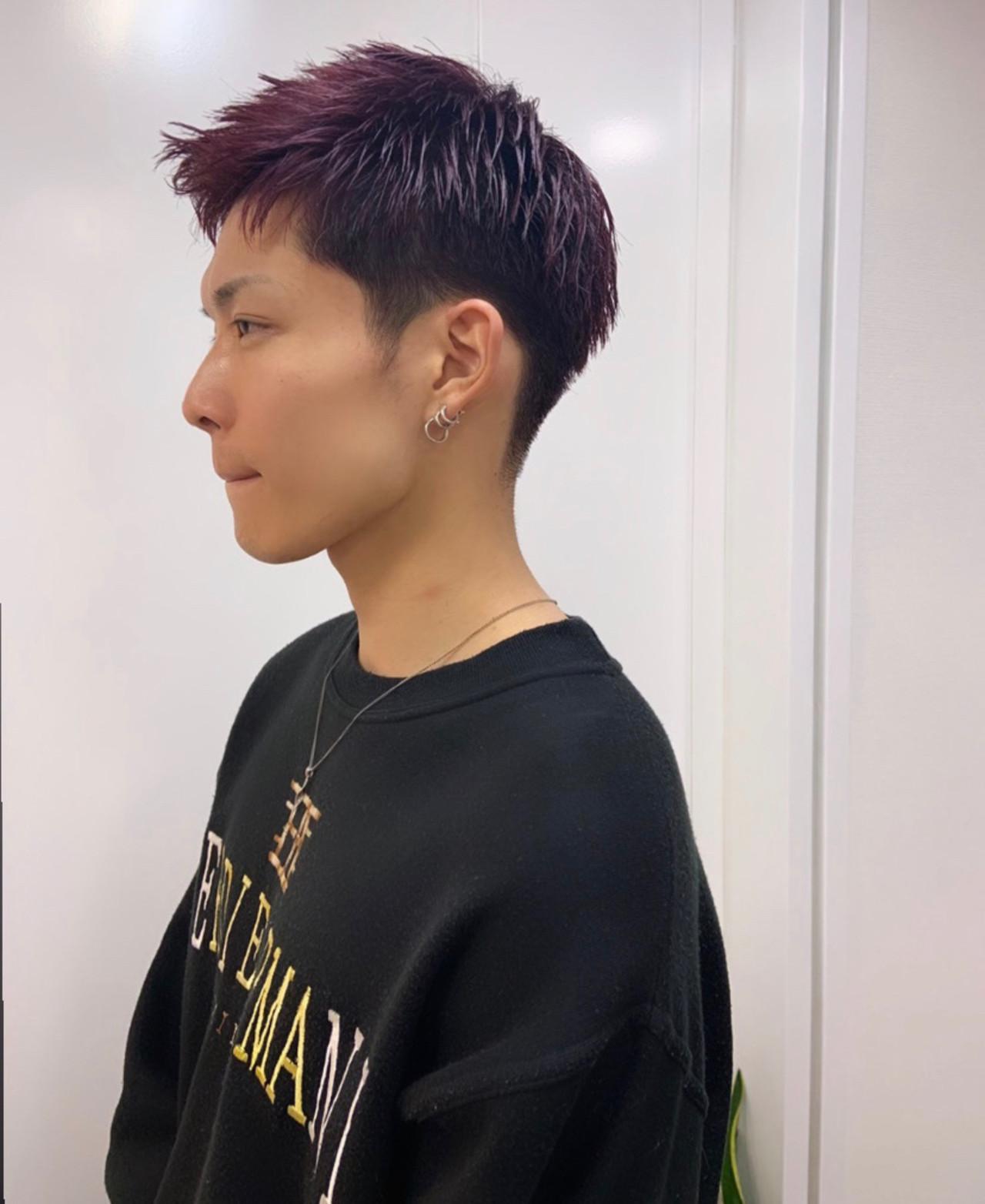 ストリート ショート メンズカラー メンズ ヘアスタイルや髪型の写真・画像 | 砂走 真希 / As hair