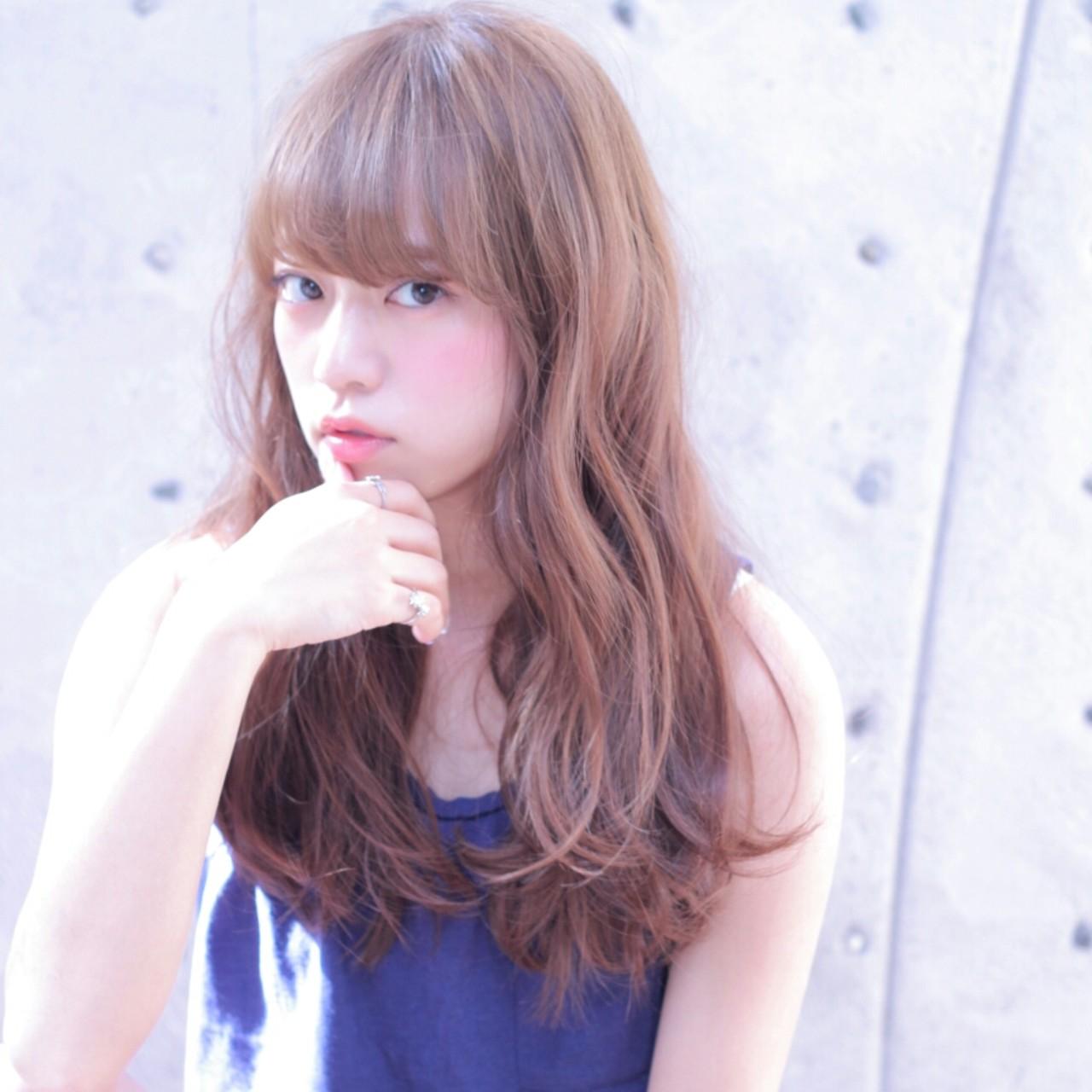ストリート ロング ゆるふわ ラフ ヘアスタイルや髪型の写真・画像 | Wataru Maeda / cache cache