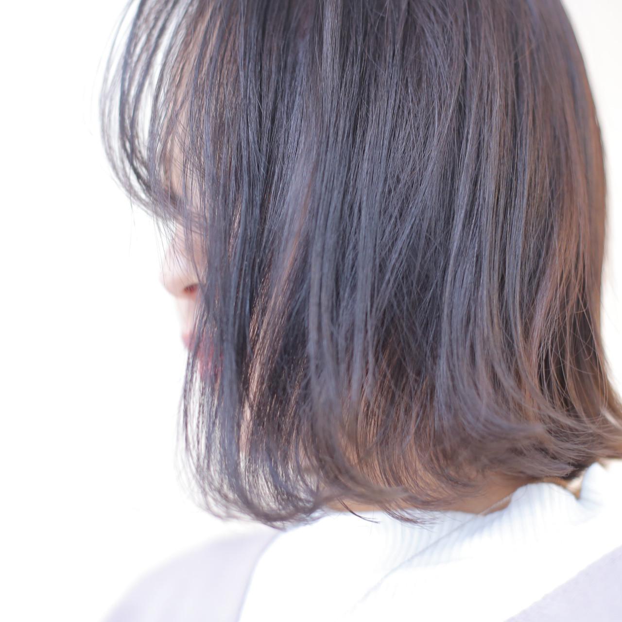 暗くても透明感のある髪に♡