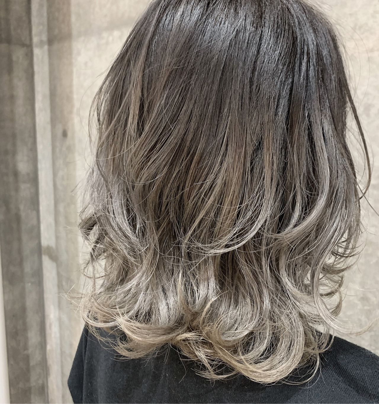 グラデーションカラー グレージュ ハイトーン ホワイトグレージュ ヘアスタイルや髪型の写真・画像   湯浅賢一(ユアサケンイチ) / ROPE hair