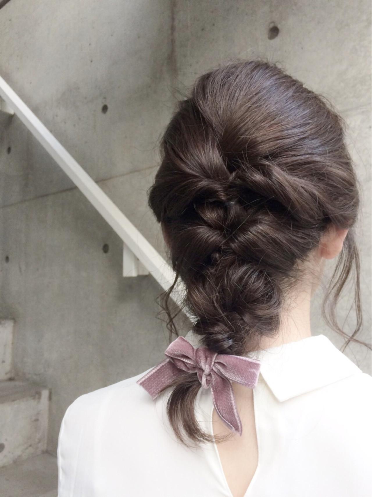 大人女子 ショート ミディアム ヘアアレンジ ヘアスタイルや髪型の写真・画像 | 小林 亜美 / Cadre