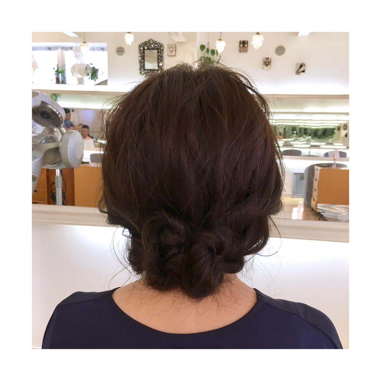 色気 リラックス 涼しげ ルーズ ヘアスタイルや髪型の写真・画像
