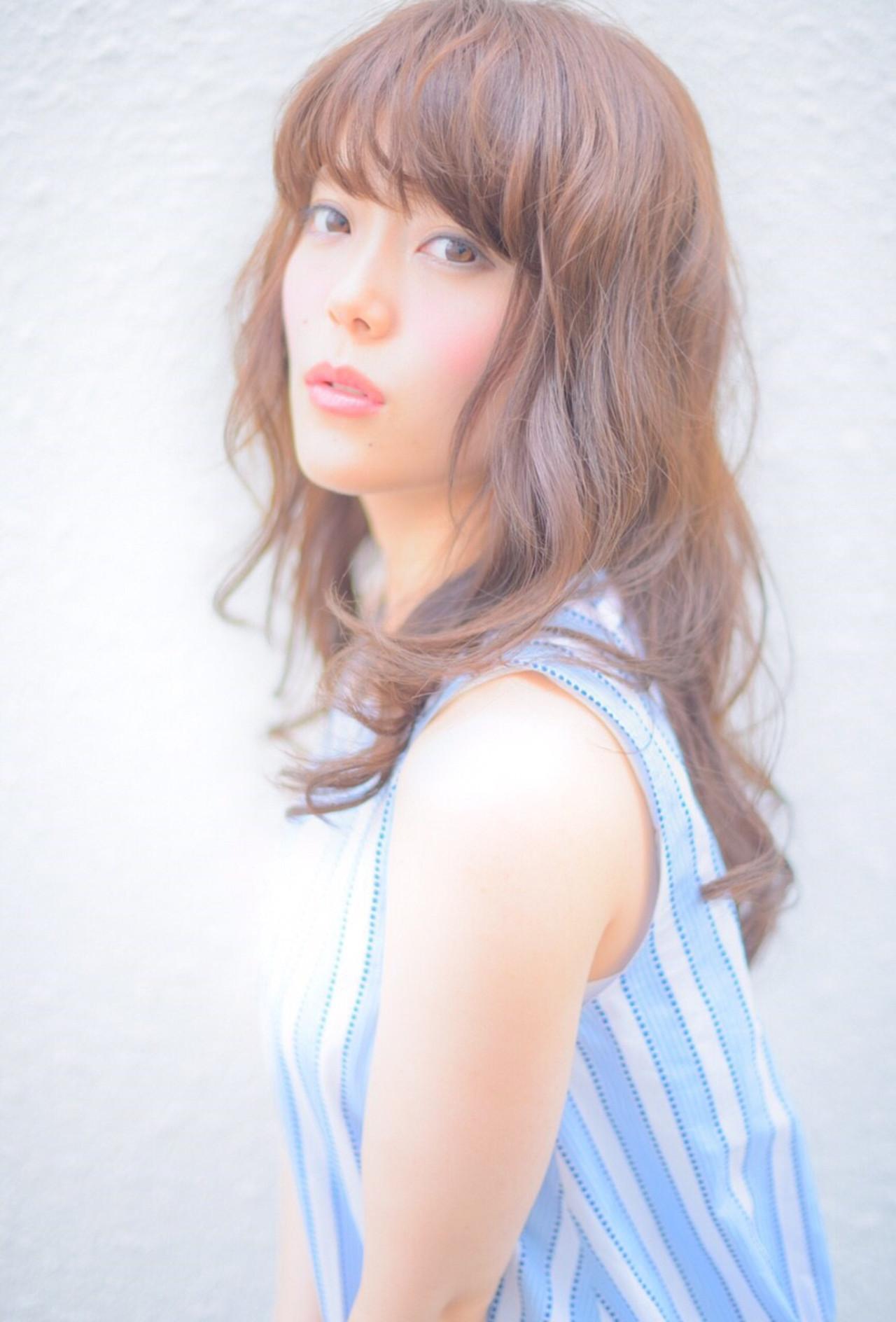 外国人風 コンサバ ヘアアレンジ フェミニン ヘアスタイルや髪型の写真・画像 | 山田 あかり /