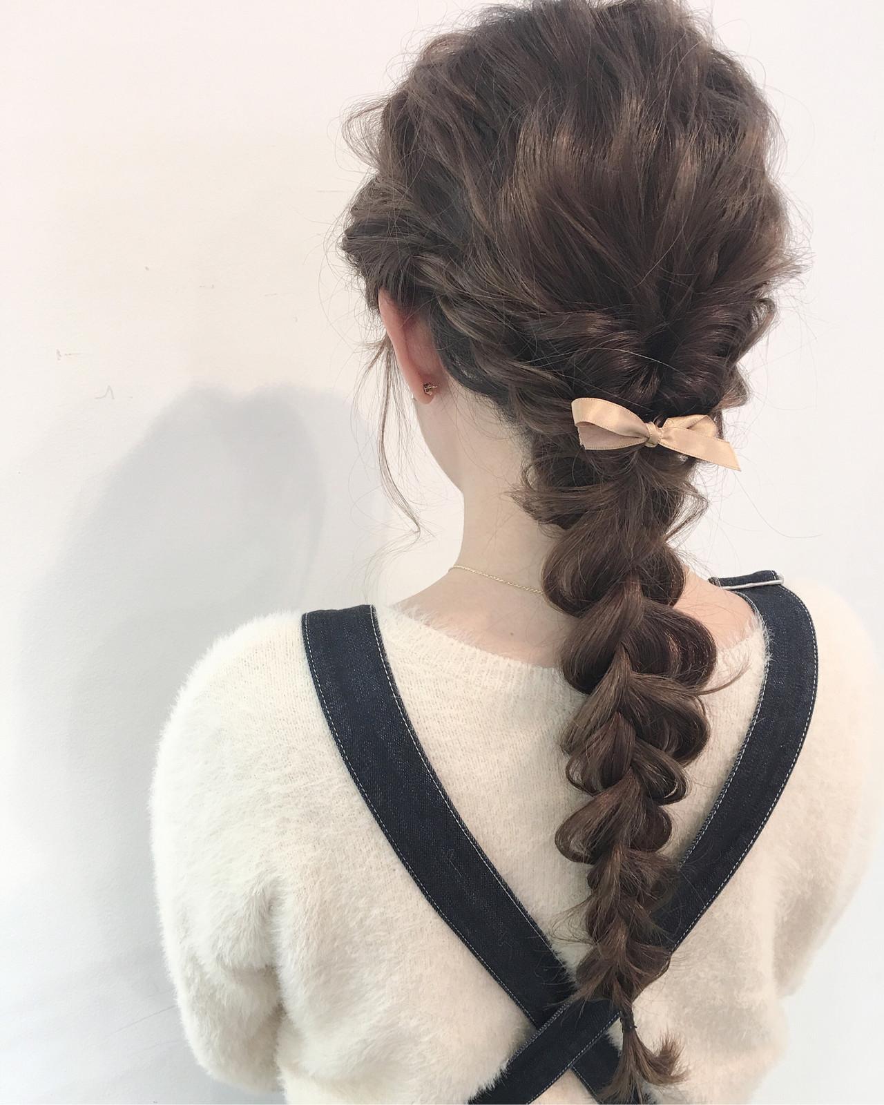 ロング 簡単ヘアアレンジ ナチュラル 成人式 ヘアスタイルや髪型の写真・画像 | 北村 亮 / Lano by HAIR