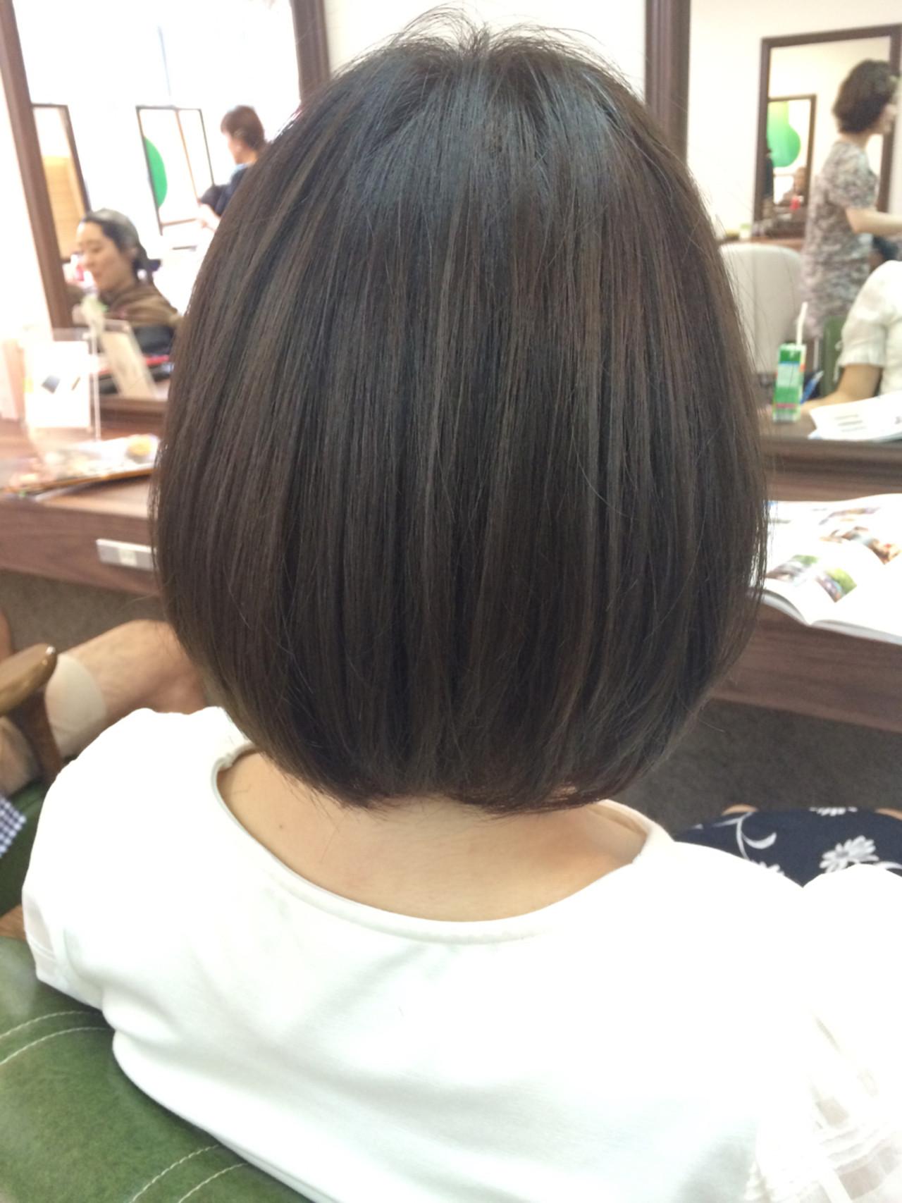 くせ毛風 ボブ ストリート ピュア ヘアスタイルや髪型の写真・画像 | 山本悠平 / hair salon nano