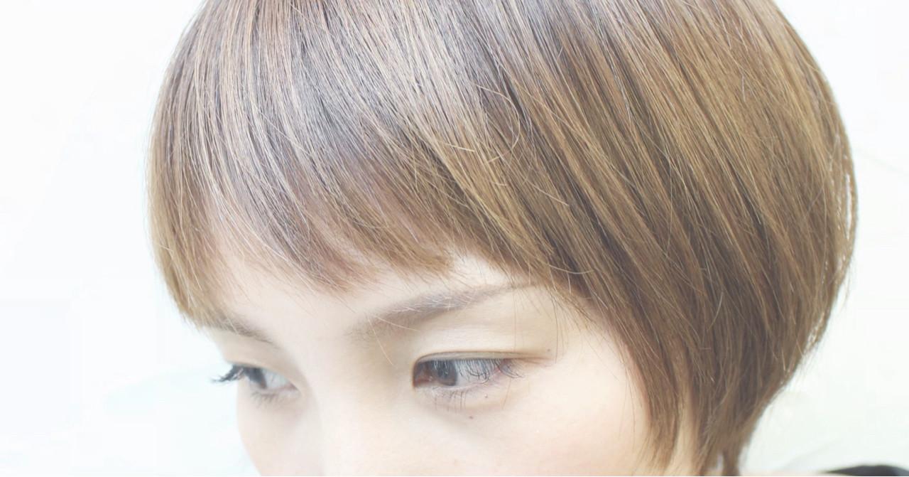 小顔 ショートボブ ショート 似合わせ ヘアスタイルや髪型の写真・画像
