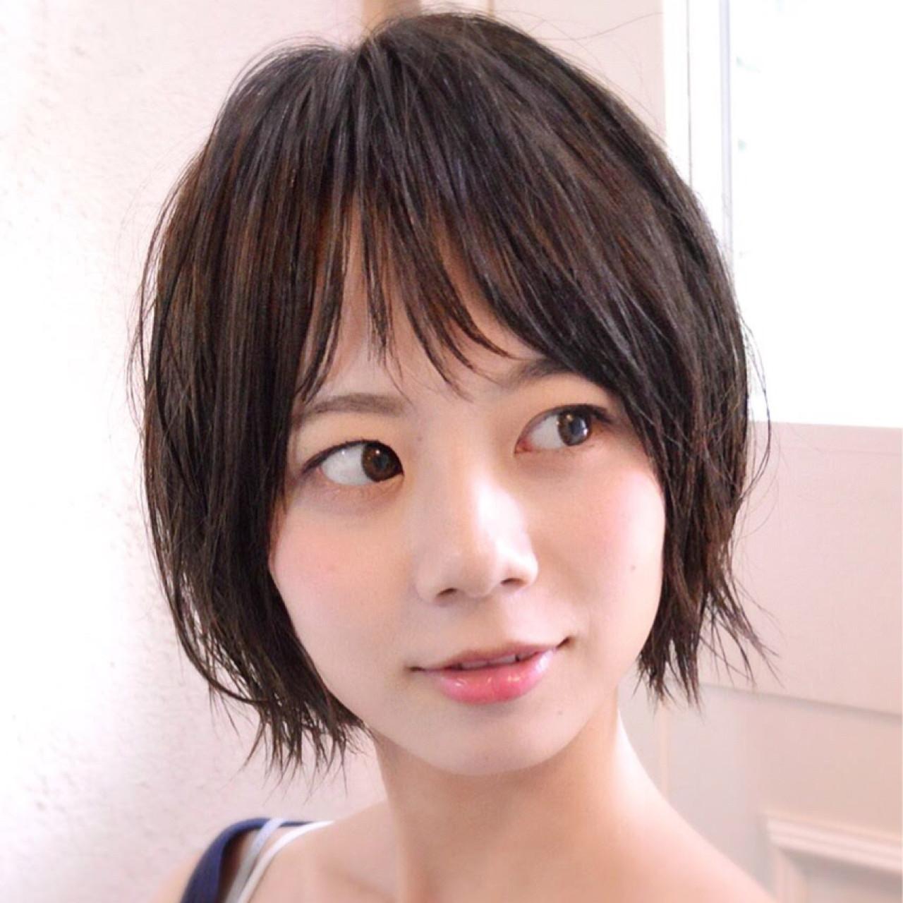 大人女子 ゆるふわ ショート 外ハネ ヘアスタイルや髪型の写真・画像 | Natsuya【ショートヘア得意なサロン】 / NATSUYA【ショートヘア高支持率】