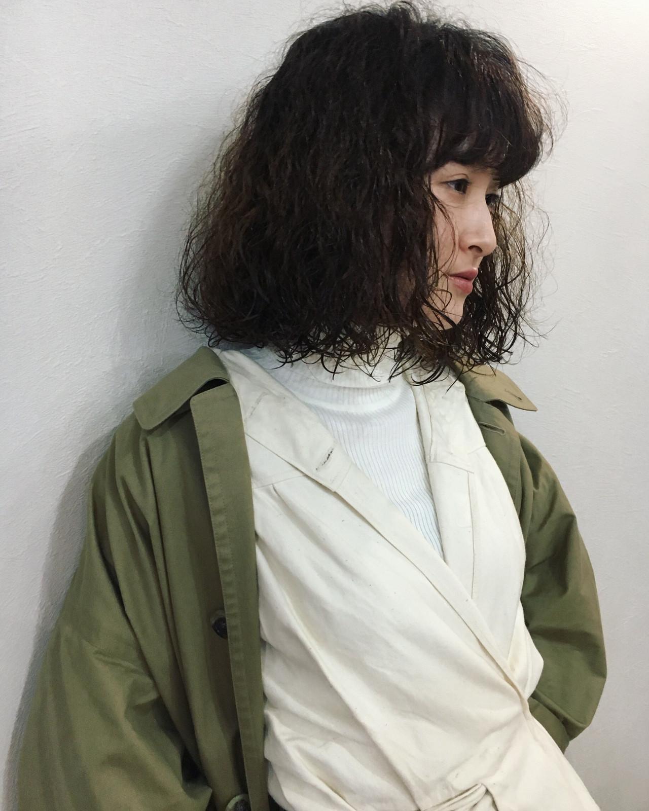 モード 大人女子 ラフ ストリート ヘアスタイルや髪型の写真・画像 | AKIRA HASUNUMA / ILLATOS hair salon