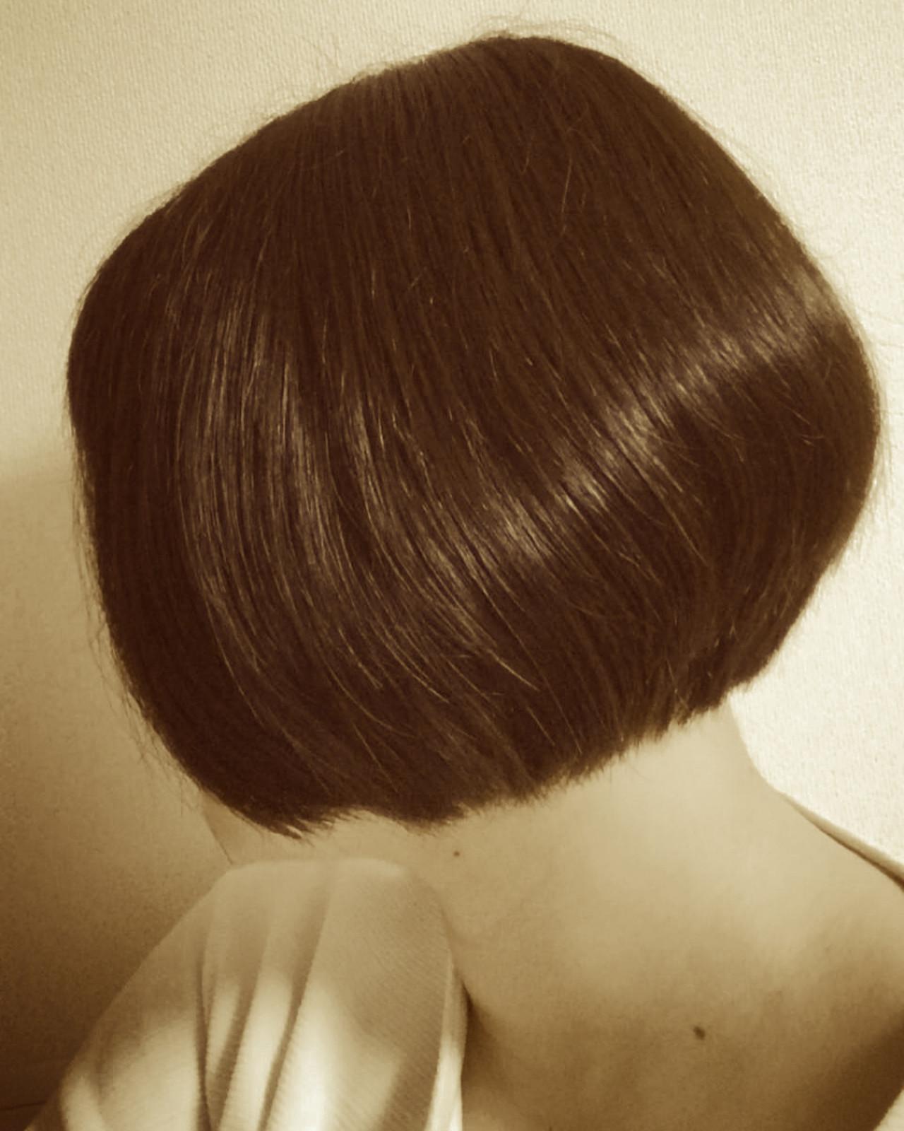 かっこいい 黒髪 フェミニン 大人かわいい ヘアスタイルや髪型の写真・画像