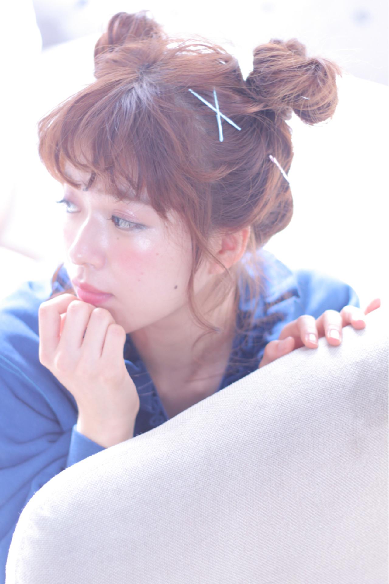 大人女子 ヘアピン ショート 簡単ヘアアレンジ ヘアスタイルや髪型の写真・画像 | Wataru Maeda / cache cache