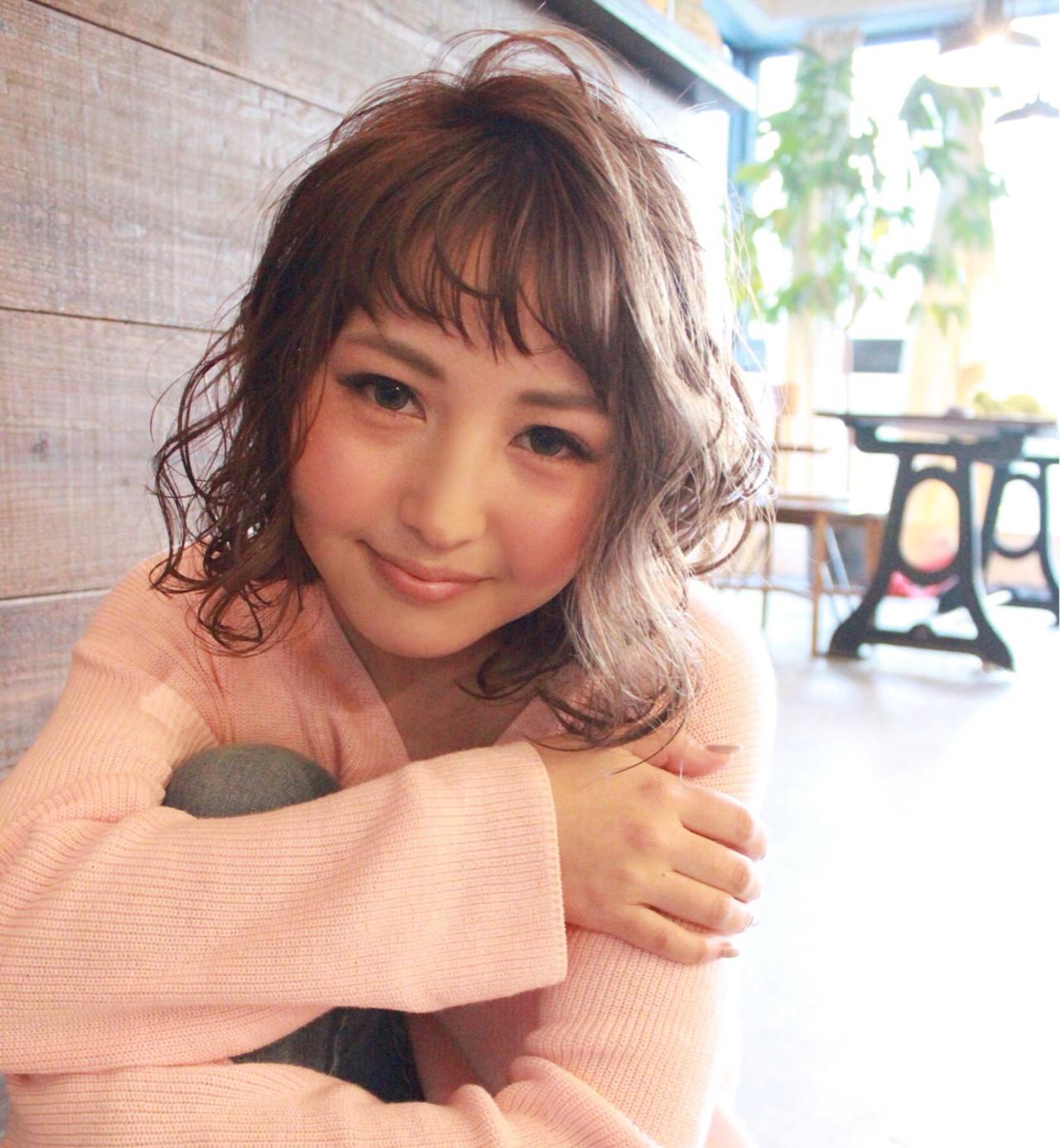 ピンク グレージュ ナチュラル ミルクティー ヘアスタイルや髪型の写真・画像 | 三木 康平 / the BRIDGE hairsalon