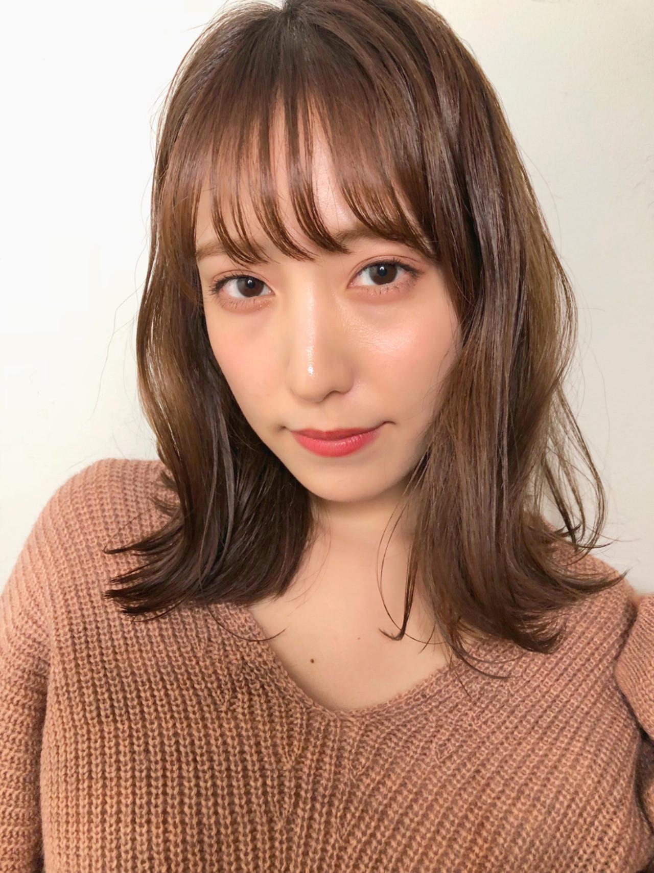 ヘアアレンジ ウェーブ ナチュラル デート ヘアスタイルや髪型の写真・画像 | ナガヤ アキラ joemi 新宿 / joemi by Un ami