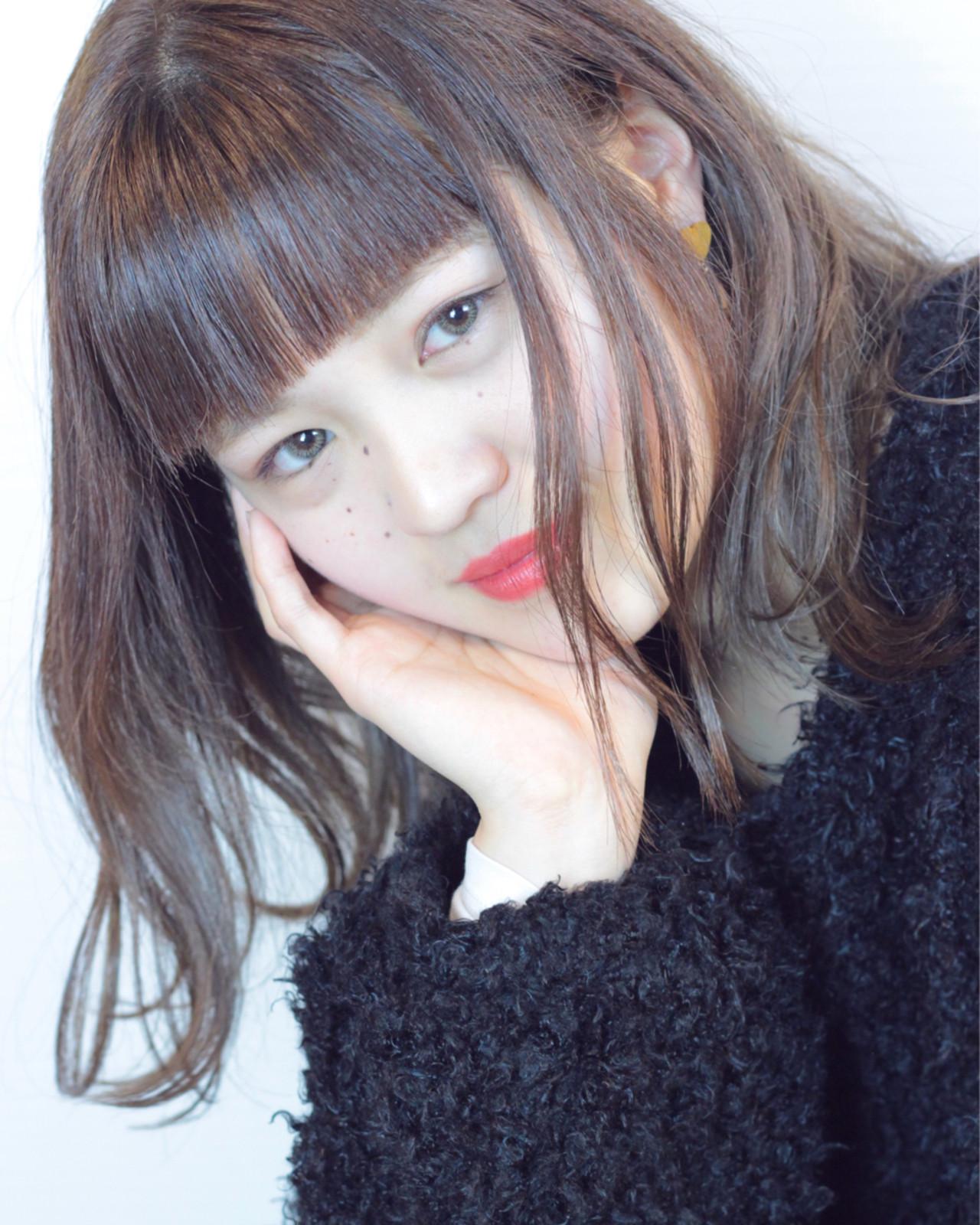 色気 エレガント ロブ アンニュイ ヘアスタイルや髪型の写真・画像 | 松田 和幸 / tuuli