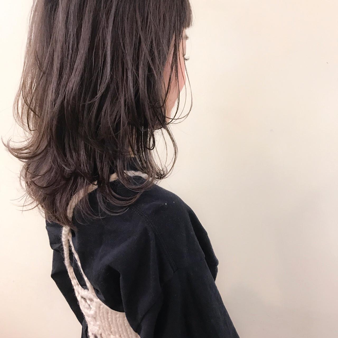大人かわいい マッシュ ナチュラル ゆるふわ ヘアスタイルや髪型の写真・画像