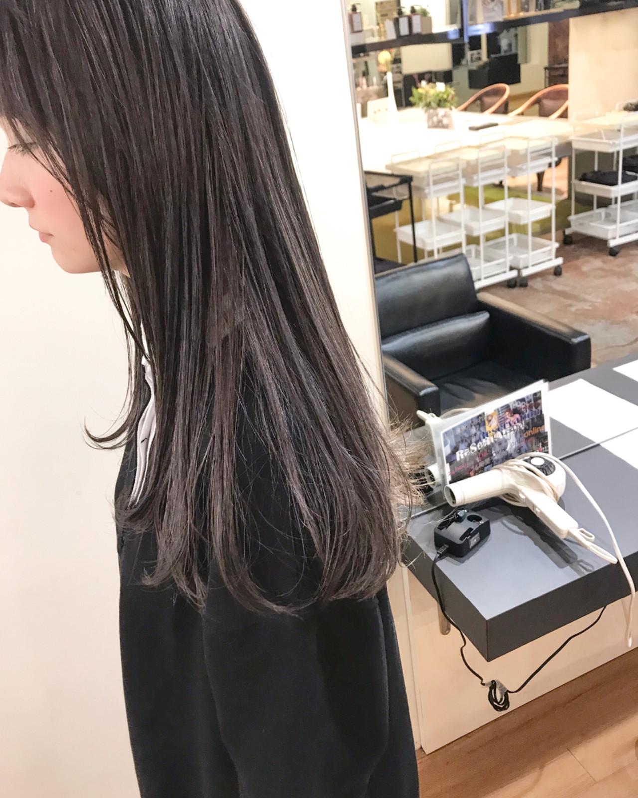 ロング 女子力 透明感 ブリーチ ヘアスタイルや髪型の写真・画像