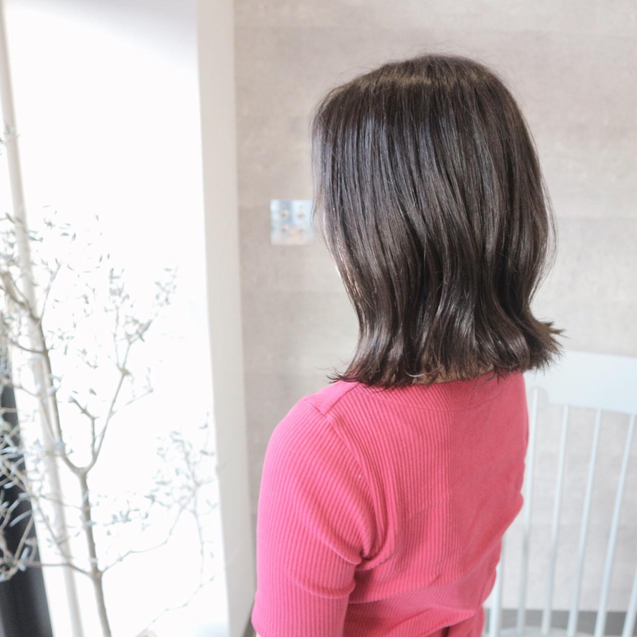 ミディアム スポーツ アンニュイほつれヘア フェミニン ヘアスタイルや髪型の写真・画像 | 桑村亮太/CALIF hair store / 函館/CALIF hair store/キャリフ ヘアストア