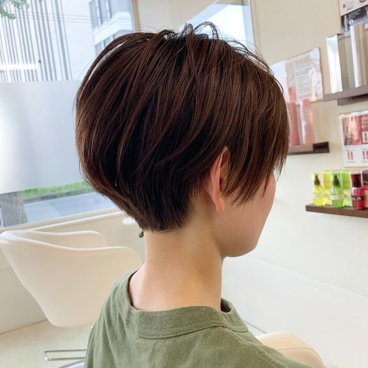 ベリーショート ショート ナチュラル ショートボブ ヘアスタイルや髪型の写真・画像   新谷 朋宏 / Free hairstylist shinya