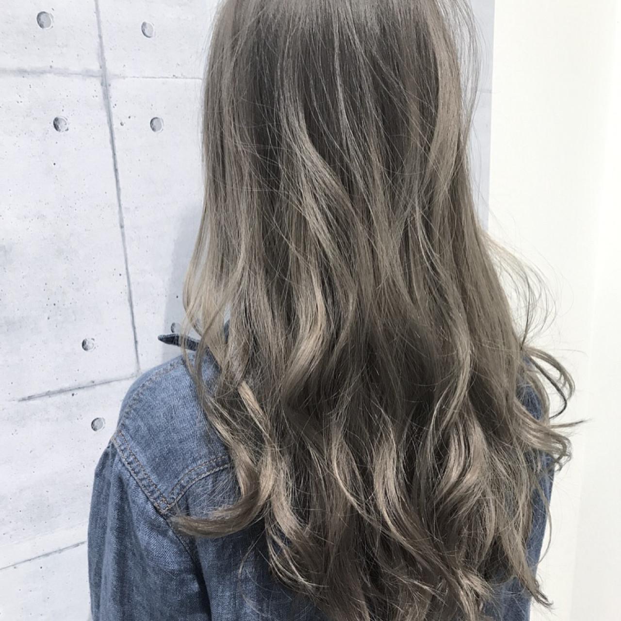 抜け感 モード ウェーブ アンニュイ ヘアスタイルや髪型の写真・画像