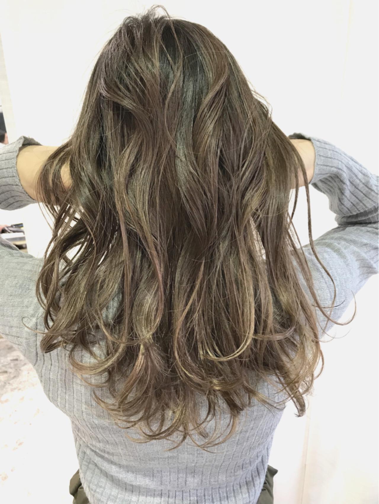 デート こなれ感 ロング エレガント ヘアスタイルや髪型の写真・画像