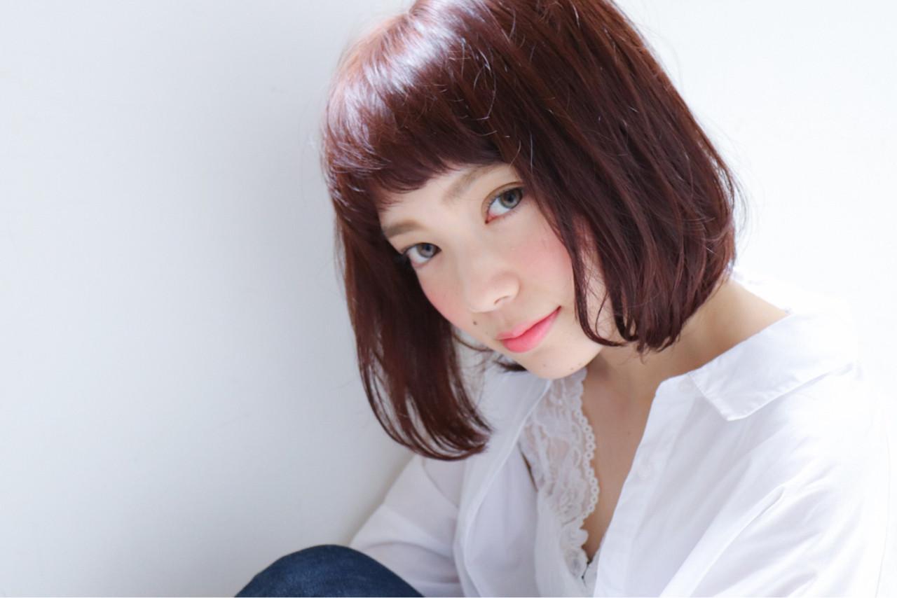 色気 ナチュラル 秋 透明感 ヘアスタイルや髪型の写真・画像   鈴木 謙太 / HAIRLOGY