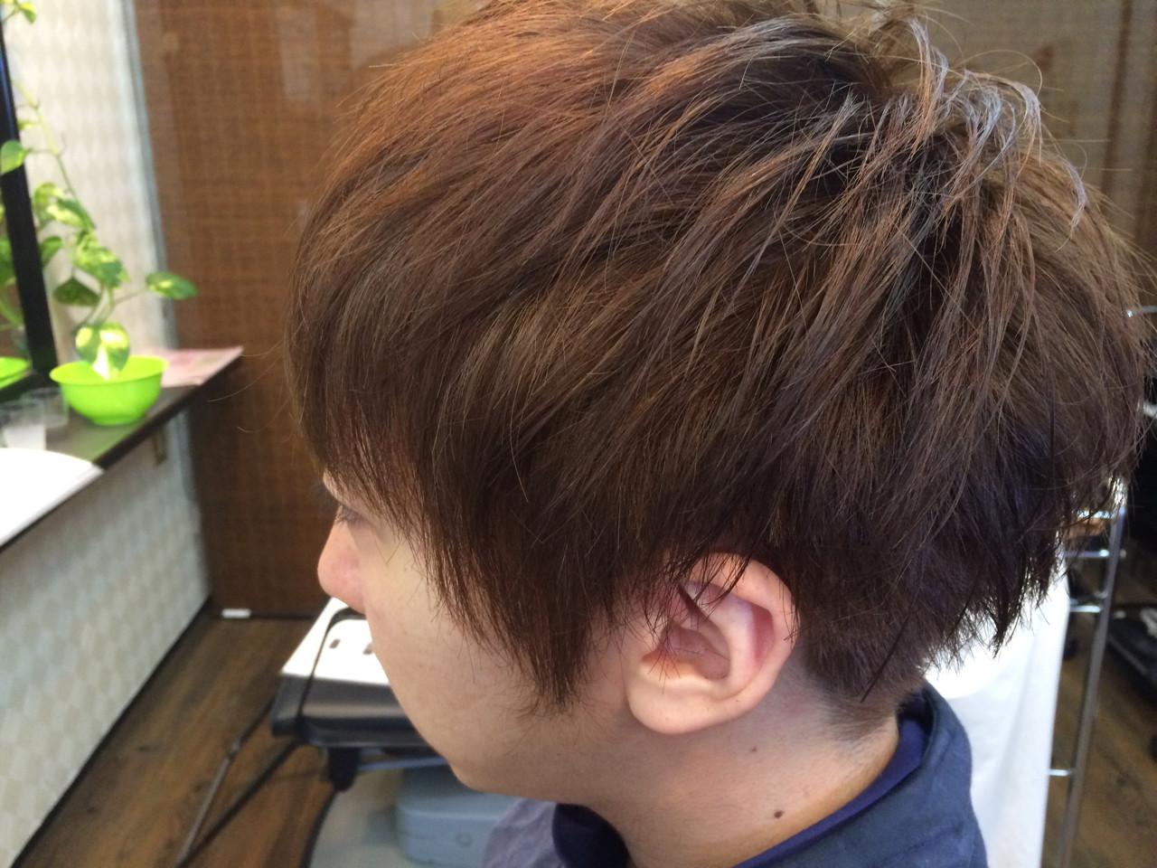 メンズ マッシュ ストリート ショート ヘアスタイルや髪型の写真・画像 | タバタマサト / animi hair make (アニミー ヘアー メイク)